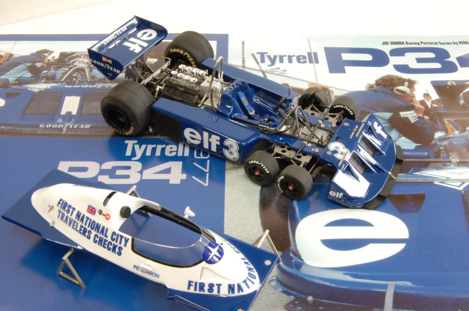 1/20scale Conversion Kit : Tyrrell P34