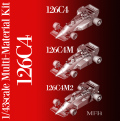 1/43scale Multi-Material Kit : 126C4 / 126C4M / 126C4M2