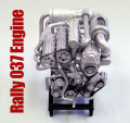 1/12scale Engine Kit :  Rally 037 Engine