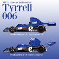 1/20scale Fulldetail kit : Tyrrell 006