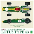 1/20scale Fulldetail Kit : LOTUS Type43