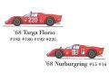 1/24scale Fulldetail Kit : Tipo33 '68 Targa Florio / '68 Nürburgring