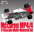 1/43scale Multi-Material Kit : McLaren MP4/4