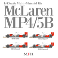 1/43scale Multi-Material Kit : McLaren MP4/5B