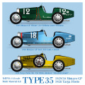 1/43scale Multi-Material Kit : TYPE35