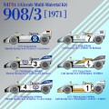 1/43scale Multi-Material Kit : 908/3 [1971]