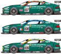 1/24scale Proportion Kit : DBR9 2007LM #007,#008,#009