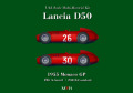 1/43scale Multi-Material Kit : Lancia D50