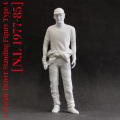 1/12scale Driver Standing Figure Type : 1 / 2 / 3 / 4