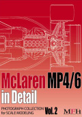 "PHOTOGRAPH COLLECTION Vol.2 ""McLaren MP4/6 in Detail"
