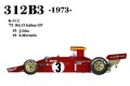 1/20scale Fulldetail kit : 312B3 '73