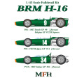1/43scale Multi-Material Kit : BRM H-16