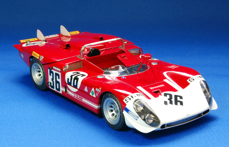 1/24scale Fulldetail Kit : Tipo33/3 [Long Tail] [Short Tail]