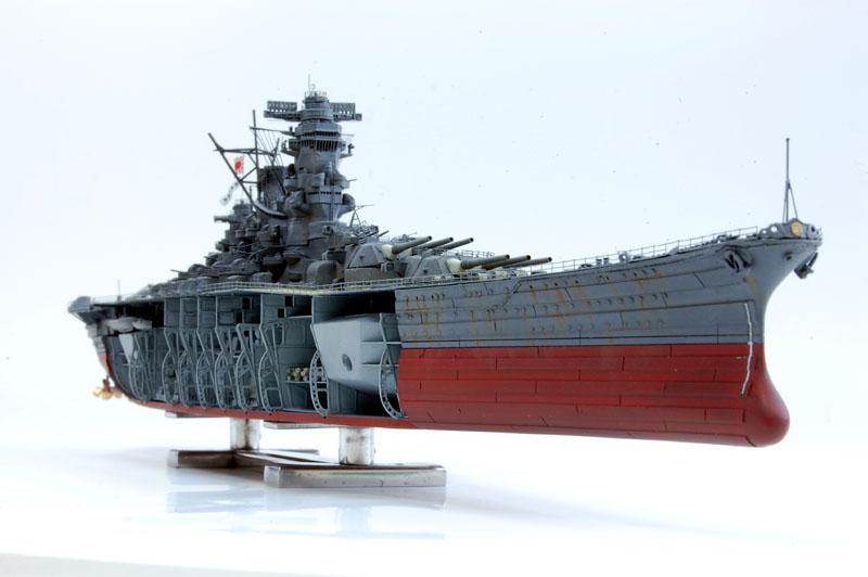 1/700scale Multi-Material Kit : 日本海軍 戦艦 大和 Japanese Battleship YAMATO