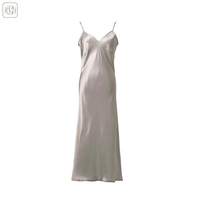 19匁 シルクロングドレス | レディース