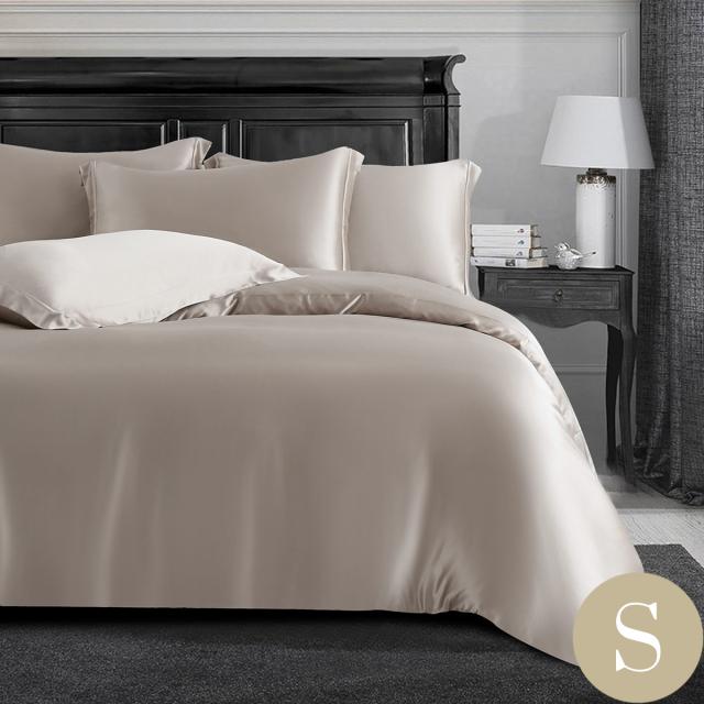 シングル | 150×210cm | 掛け布団カバー1枚 | 包み型スタンダード枕カバー2枚 | 22匁 シルク