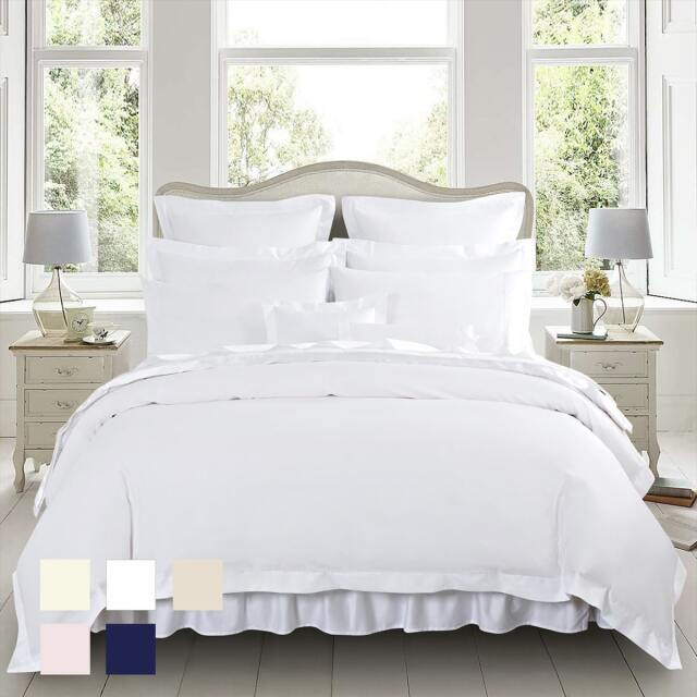 Double Comfy Nights 40cm Extra Deep 200 Thread Count Egyptian Cotton Fitted Quilted Mattress//Pillow Protector