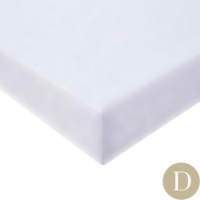 [Renewal]ダブル | 140×200cm | 高さ40cm | ボックスシーツ1枚 | 封筒型スタンダード枕カバー2枚 |   400TC コットンサテン