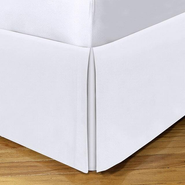 ベッドスカート / ダブル / 140cm x200cm / 高さ25cm  / 400TC コットンサテン(10月上旬順次発送)