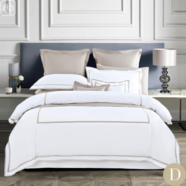 [Renewal]ダブル | ボックスシーツ1枚 | 掛け布団カバー1枚 | 包み型スタンダード枕カバー2枚 | 400TC ホテル