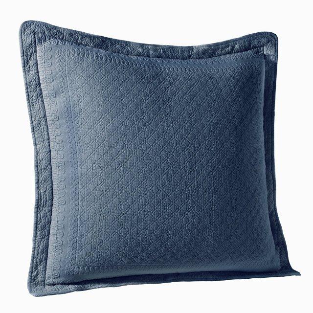 クッションカバー | ユーロ | 65×65cm | ブルー | キングチャールズマトラッテ