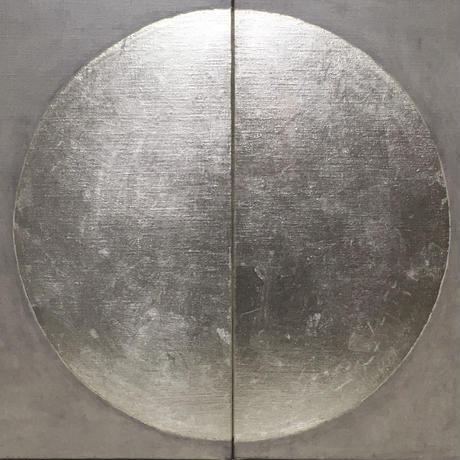 銀の月2枚組 | 24,3×41cmが2枚