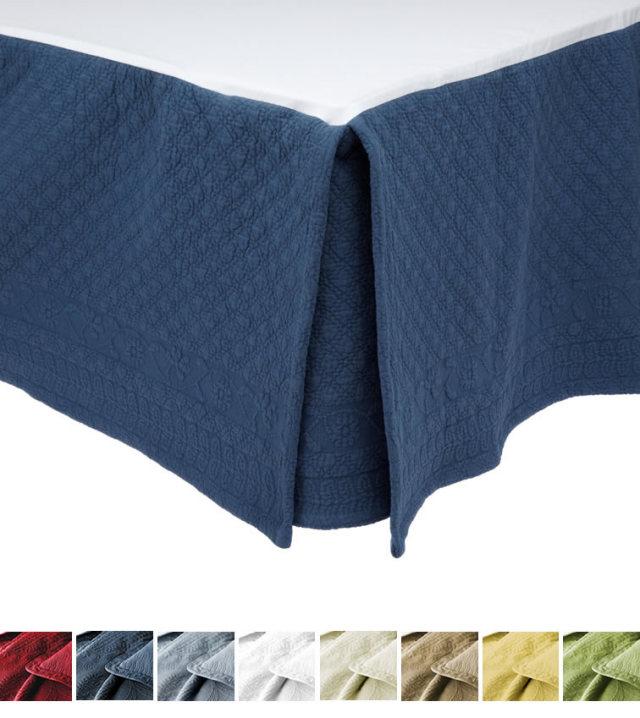 ベッドスカート | シングル | 100x 200cm | 高さ38cm | キングチャールズマトラッテ