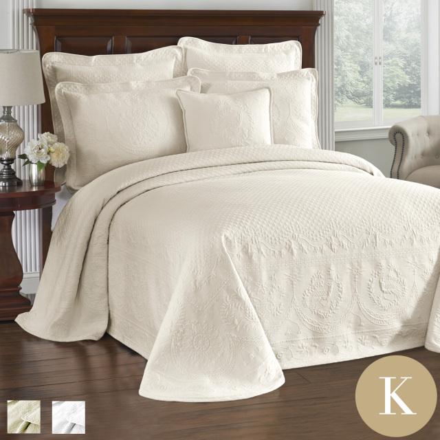 ベッドスプレッド | キング | 289cmx304cm| キングチャールズマトラッテ
