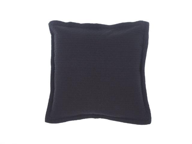 クッションカバー / 50cmスクエア / 50×50cm / Home Concept(ホームコンセプト) / 無地(ブラック) / オフィディアン