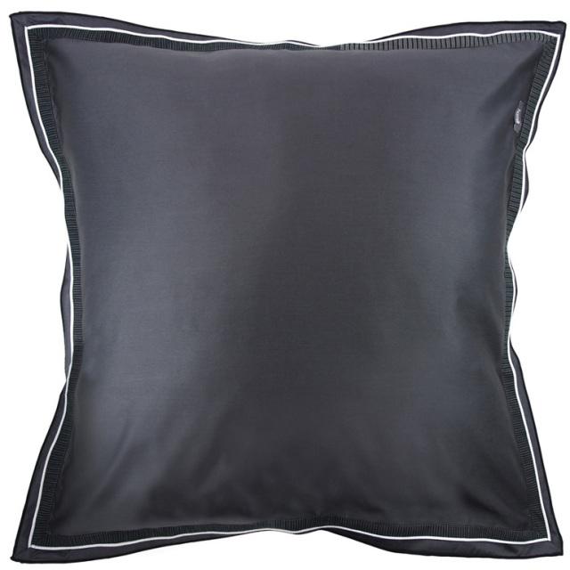 クッションカバー  / ユーロ / 65×65cm / Home Concept(ホームコンセプト) / 無地(ブラック) / ミスティフォレスト