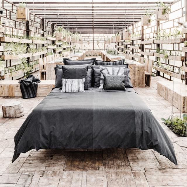 ボックスシーツ1枚  掛け布団カバー1枚  封筒型スタンダード枕カバー2枚 / Home Concept(ホームコンセプト) /  ミスティフォレスト