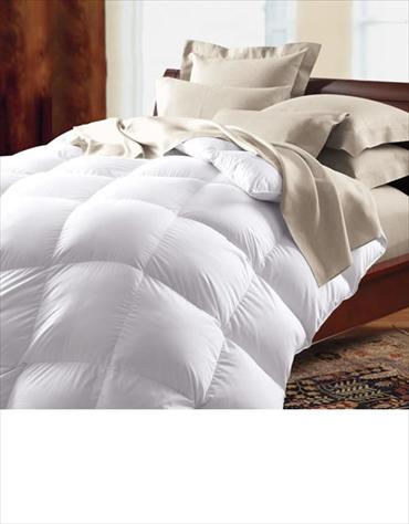 羽毛布団 700フィルパワーヨーロピアンホワイトグースダウン  / ダブル 190cmx210cm / 夏用 (羽毛の重さ 430g)