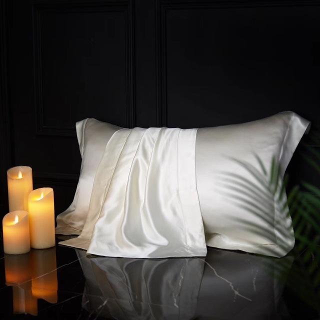 クイーン | 210×210cm | 掛け布団カバー1枚 | 包み型スタンダード枕カバー2枚 | 22匁 シルク