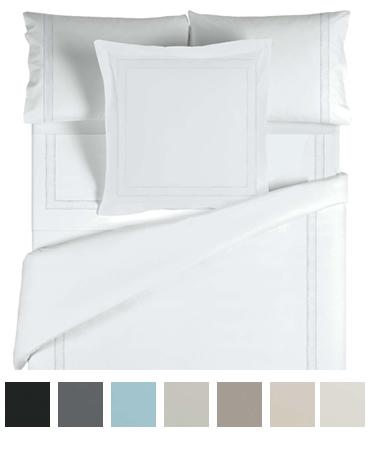 ダブル / 190×210cm / 掛け布団カバー1枚 / 封筒型スタンダード枕カバー2枚 / サテンベーシック