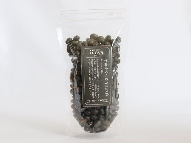 黒豆茶 いいにゃ 袋入り 150g