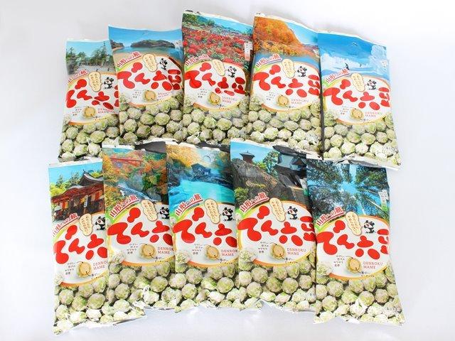 山形への旅 でん六豆10袋入り 40g×10袋 でん六