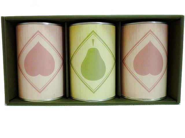 宮澤食品 湯むき白桃と熟したラ・フランス 缶詰 3缶セット