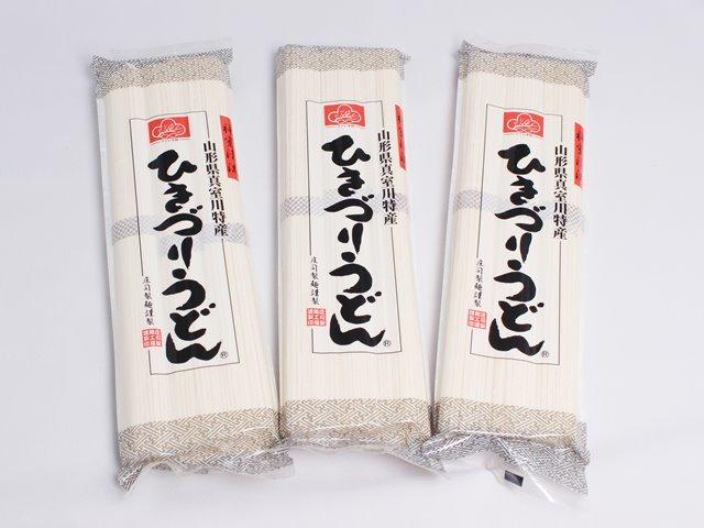 ひきづりうどん  庄司製麺 乾麺 1袋:360g(120g×3)×1・3袋:360g(120g×3)×3