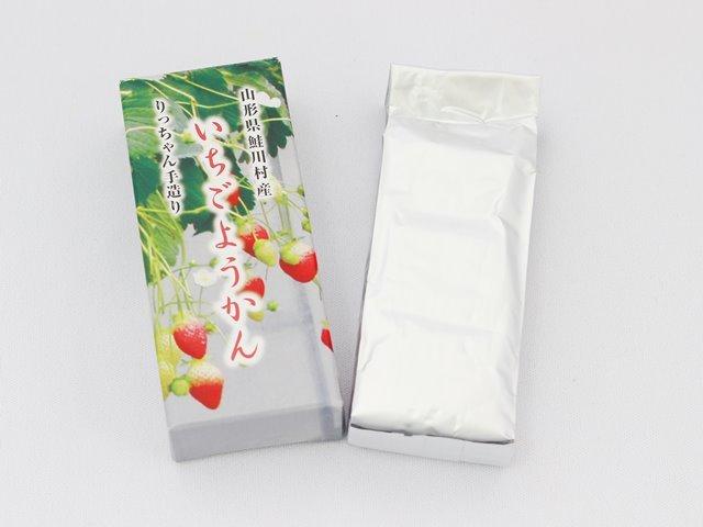 いちごようかん 山形県オリジナル品種 サマーティアラ 鮭川村産