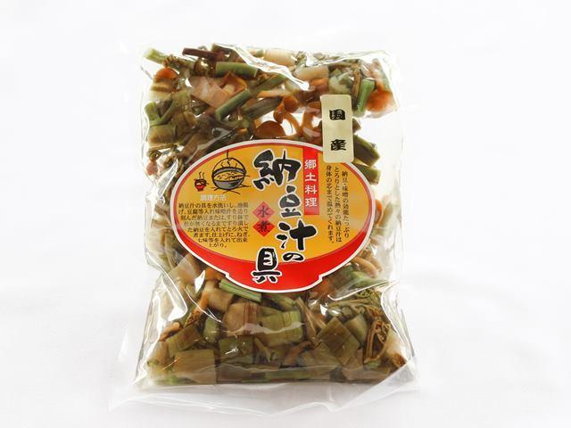 山形郷土料理 納豆汁の具 国産 水煮 180g