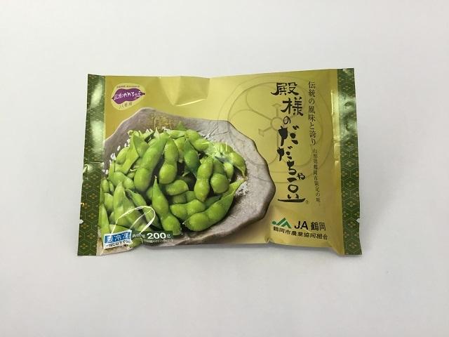 殿様のだだちゃ豆(冷凍) 茹で上げ済 200g