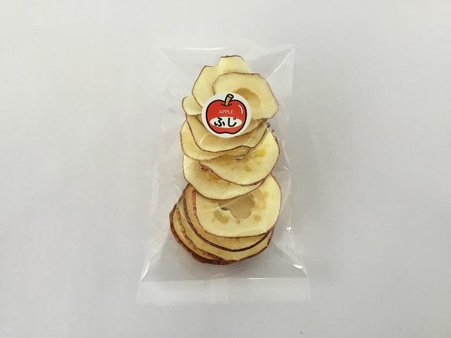 手づくりりんごチップス 新庄市産 25g