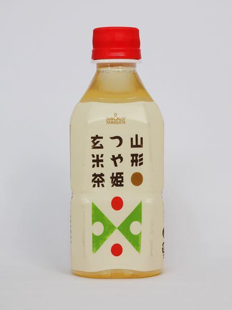 山形名物 つや姫玄米茶 350ml