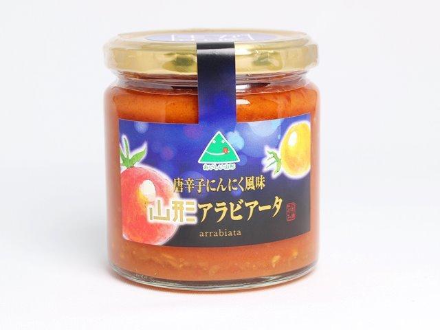 山形アラビアータ 唐辛子にんにく風味 三和食品 240g