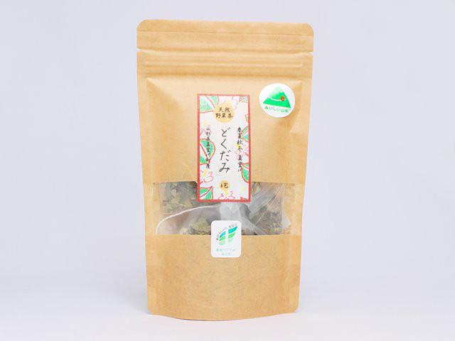天然野草茶 どくだみ 山形県真室川町産 6g×6包