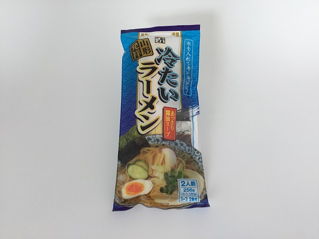 冷たいラーメン 山形発 そば屋の中華 スープ2食付 1袋 みうら食品