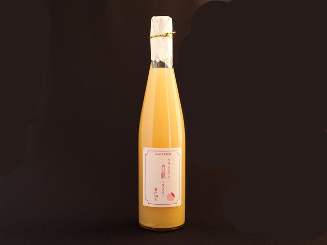 フルーツジュース 白桃 果汁100% 500ml