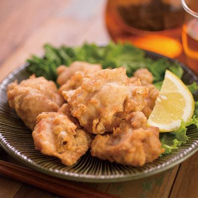 北海道産 【知床チキン】 もも肉 無添加 冷凍味付ザンギ 1kg×3袋セット