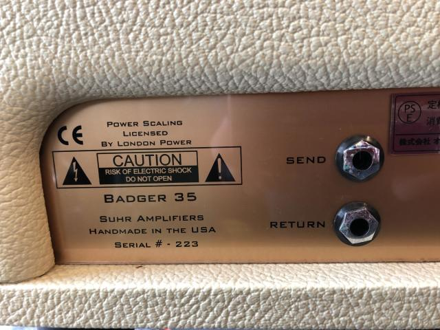 Suhr Badger 35