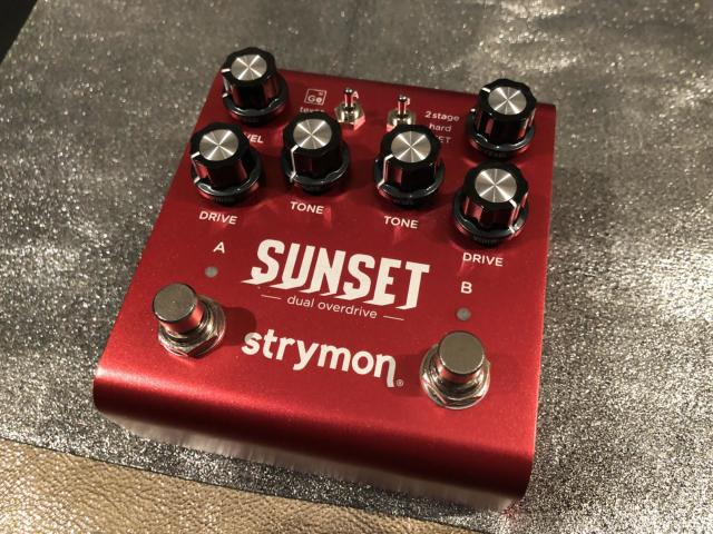 strymon SUNSET dual overdrive